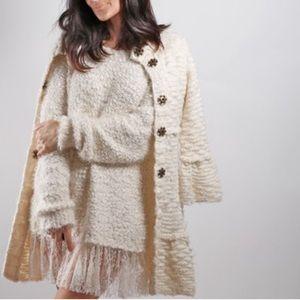 SOLD Free People Cream Cardigan Sweater